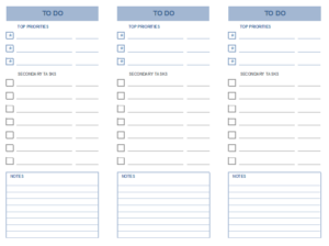 Personal Planner Templates Six
