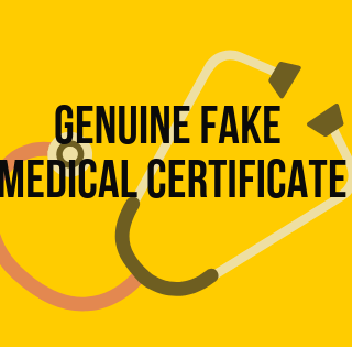 Fake Medical Certificate