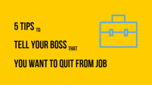 You Want To Quit From Job