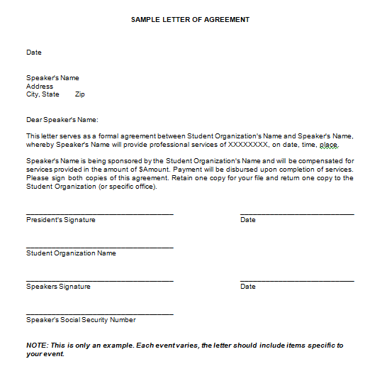 Letter-of-Agreement-for-Payment